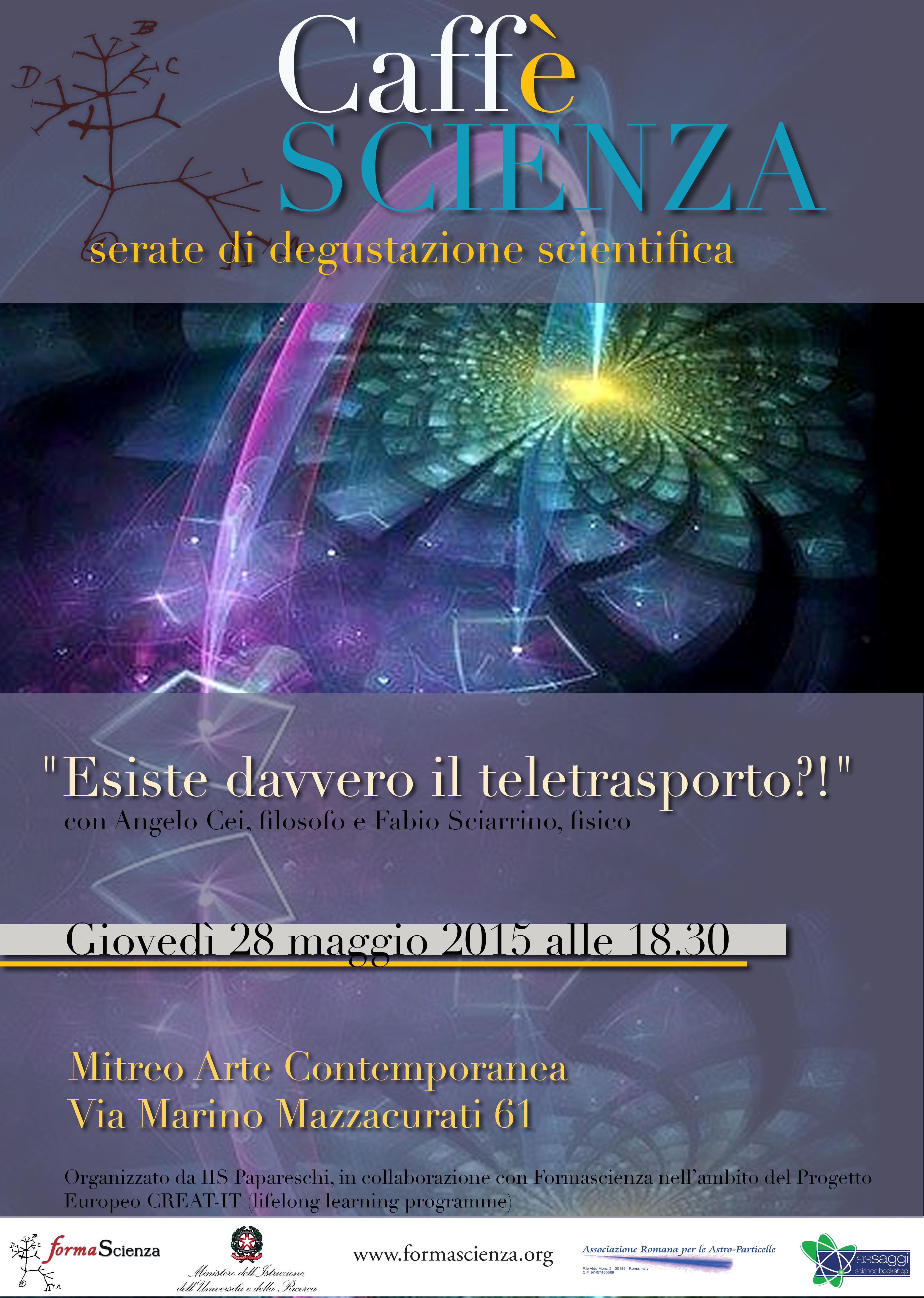 locandina2015 evento singolo TELETRASPORTO